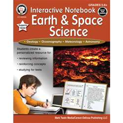 Interactive Earth And Space Science Notebooks, CD-405008