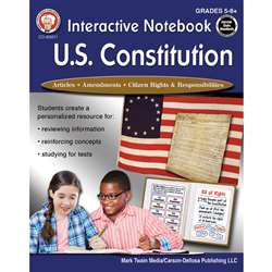 Interactive Us Constitution Notebooks, CD-405011