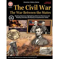 Civil War Between States Gr 5-12, CD-405013