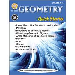 Geometry Quick Starts Workbook, CD-405038