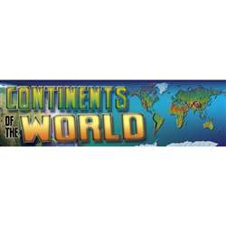 Bbs Continents Of The World Gr 4-8 By Carson Dellosa
