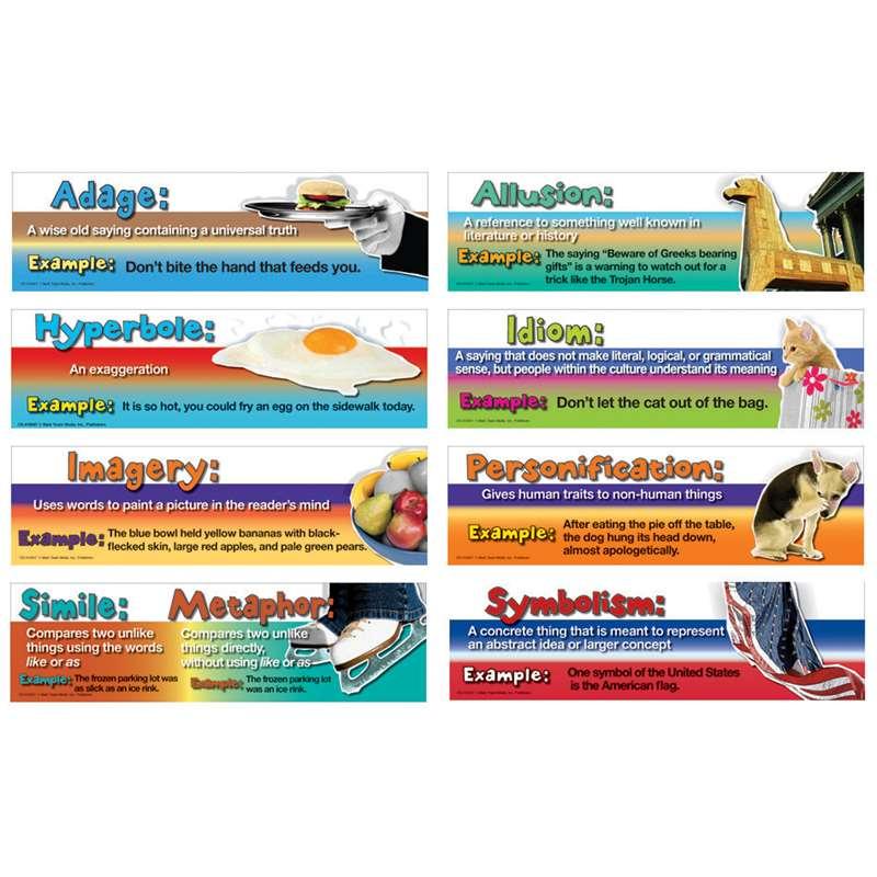 Figurative Language Mini Bulletin Board Set By Carson Dellosa