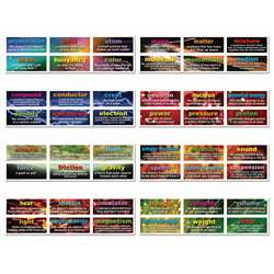 48 Physical Science Testing Words Mini Bulletin Board Set By Carson Dellosa