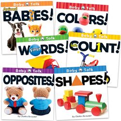 Baby Talk Board Books Set Of All 6, CD-418679