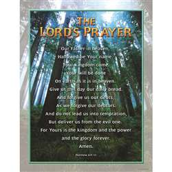 Chartlet The Lords Prayer 17X22 By Carson Dellosa