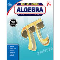 Shop Algebra Book Grades 7 & Up - Cd-704385 By Carson Dellosa