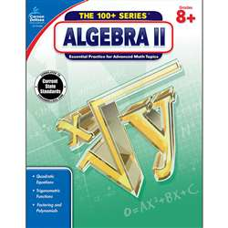 Shop Algebra Ii Book Grades 8 & Up - Cd-704386 By Carson Dellosa