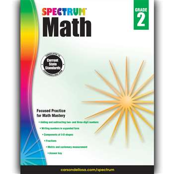 Spectrum Math Gr 2, CD-704562