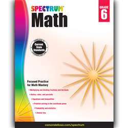Spectrum Math Gr 6, CD-704566