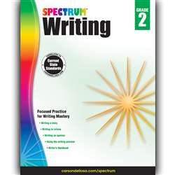 Spectrum Writing Gr 2, CD-704571