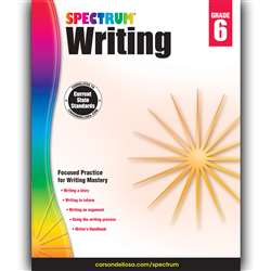 Spectrum Writing Gr 6, CD-704575