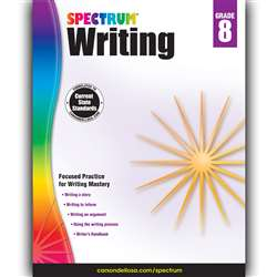 Spectrum Writing Gr 8, CD-704577