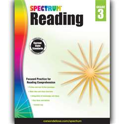 Spectrum Reading Gr 3, CD-704581