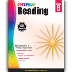 Spectrum Reading Gr 6, CD-704584