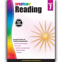 Spectrum Reading Gr 7, CD-704585