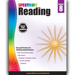 Spectrum Reading Gr 8, CD-704586