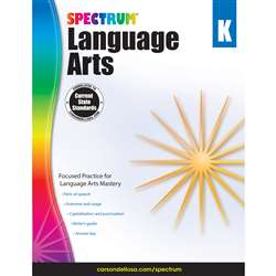 Spectrum Language Arts Gr K, CD-704587