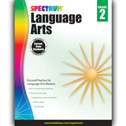 Spectrum Language Arts Gr 2, CD-704589
