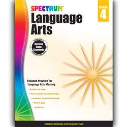 Spectrum Language Arts Gr 4, CD-704591