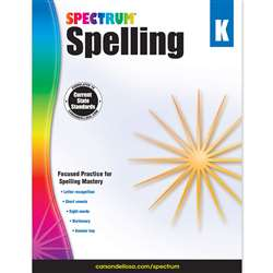 Spectrum Spelling Gr K, CD-704596