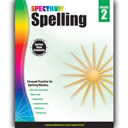 Spectrum Spelling Gr 2, CD-704598