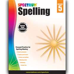 Spectrum Spelling Gr 5, CD-704601