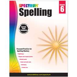 Spectrum Spelling Gr 6, CD-704602