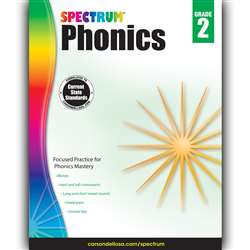 Spectrum Phonics Gr 2, CD-704605