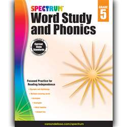Spectrum Gr 5 Word Study And Phonics, CD-704608