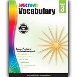 Spectrum Vocabulary Gr 3, CD-704610