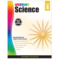 Spectrum Science Gr 4, CD-704617