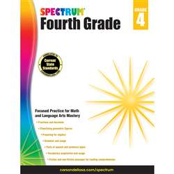 Spectrum Gr 4 Math And Language Arts Mastery, CD-704654