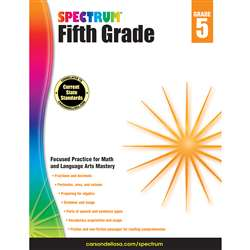 Spectrum Gr 5 Math And Language Arts Mastery, CD-704655