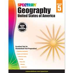 Spectrum Geography United States Of America Gr 5, CD-704660