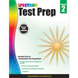 Spectrum Test Prep Gr 2, CD-704688