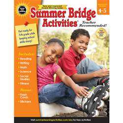 Summer Bridge Activities Gr 4-5, CD-704700