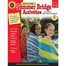 Summer Bridge Activities Gr 5-6, CD-704701