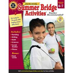 Summer Bridge Activities Gr 6-7, CD-704702