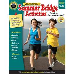 Summer Bridge Activities Gr 7-8, CD-704703