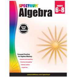 Spectrum Algebra Gr 6-8, CD-704706