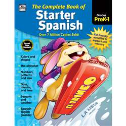 Complete Book Of Starter Spanish, CD-704928