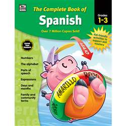 Complete Book Of Spanish Gr 1-3, CD-704929