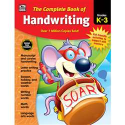 Complete Book Of Handwriting Gr K-3, CD-704930