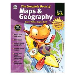 Complete Book Of Maps & Geography, CD-704931