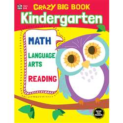 Crazy Big Book Grade K, CD-705201