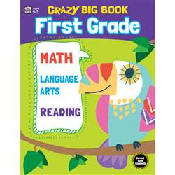 Crazy Big Book Grade 1, CD-705202