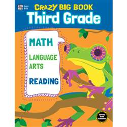 Crazy Big Book Grade 3, CD-705204