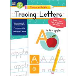 Trace With Me Tracing Letters, CD-705215