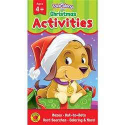 Christmas Activities Ages 4 - 5 My Take-Along Tabl, CD-705282