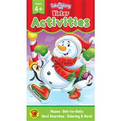 Winter Activities Ages 4 - 5 My Take-Along Tablet, CD-705283